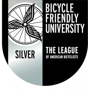 bicycle friendly university silver designation logo